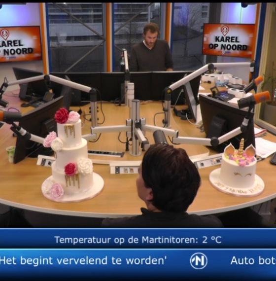 Live op RTV Noord
