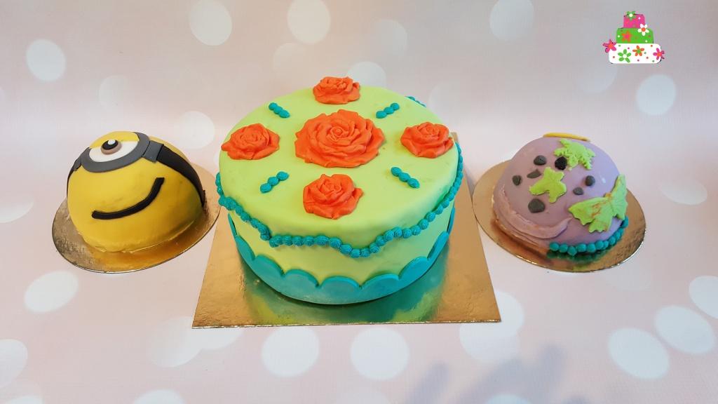 Ouder en kind taart workshop