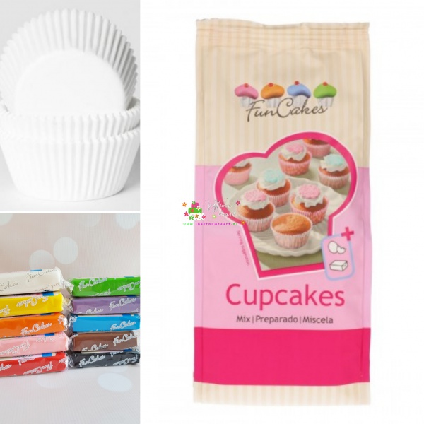 Basis cupcake pakket fondant