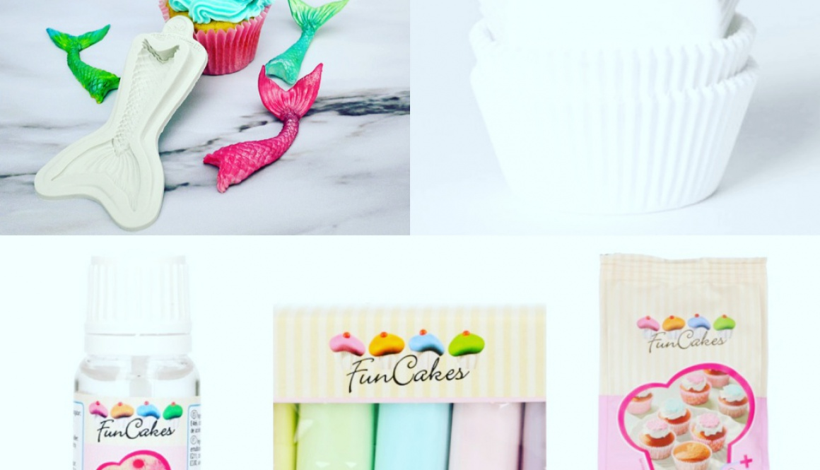 zeemeermin Cupcake pakket
