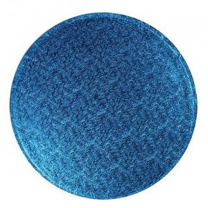 Cakedrum Donker Blauw Rond Ø25cm