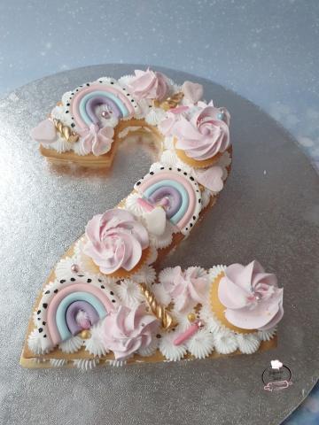 Cijfer taart